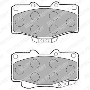 Колодки передние TOYOTA LAND CRUISER 70, 80, HILUX II-III LP854