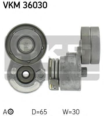Натяжитель приводного ремня генератора, с кондиционером Renault Laguna 1.8 16v / 1.9dCi 2.0 16v 01>