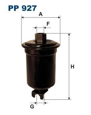 Фильтр топливный PP927