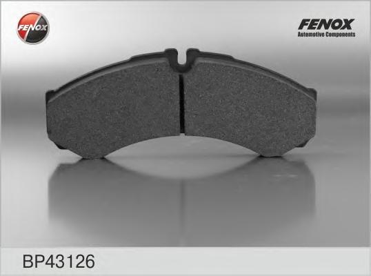 Колодки передние/задние Iveco Daily I, II, III 98-/06- BP43126