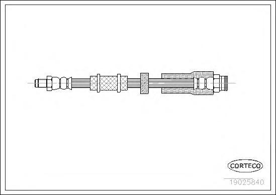 Шланг тормозной CITROEN: JUMPER фургон 1.9 D/1.9 TD/2.0/2.0 HDI/2.5 D/2.5 D 4x4/2.5 TD/2.5 TDi/2.5 TDi 4x4/2.8 HDi/2.8 HDi 4x4 94-02 \ FIAT: DUCATO фу