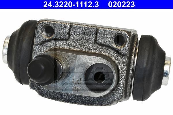 Цилиндр тормозной рабочий FORD: CONSUL (GGFL) 1700 72-75, CONSUL купе (GGCL) 1700 72-75, ESCORT -95 фургон (AVL) 1.8 D/1.8 Turbo D 95-, ESCORT CLASSIC (AAL, ABL) 1.6 16V/1.8 T