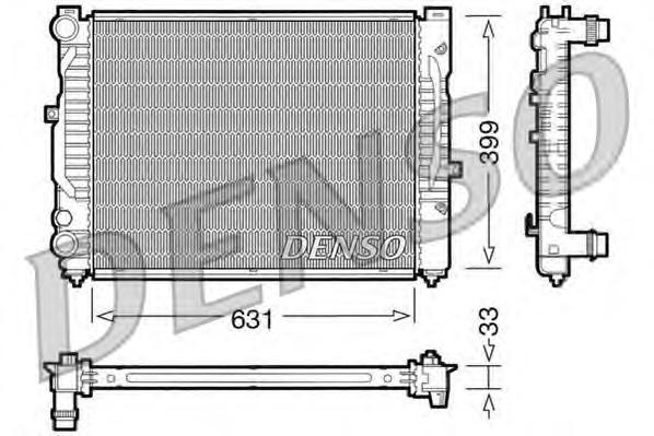 Радиатор охлаждения VOLKSWAGEN PASSAT V AUDI A4 / A6 II