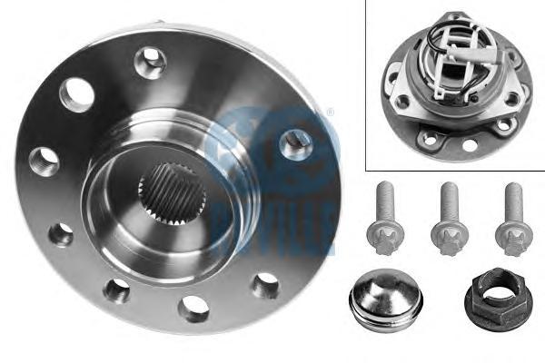 Комплект подшипника ступицы колеса | перед прав/лев |