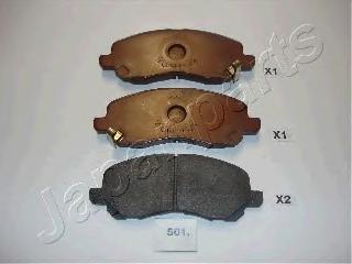 Комплект тормознх колодок дисковой тормозной меха