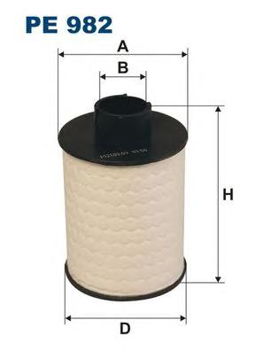 Фильтр топливный PE982