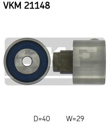 Ролик натяжителя SKF VKM21148 VW Touran/Crafter/T5 1.6TDi/2.0TDi 09-