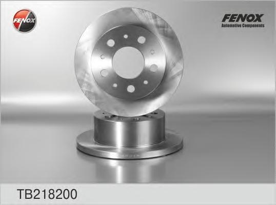 Диск тормозной задний PEUGEOT Boxer/CITROEN Jumper Maxi 02-06, 1800 kg TB218200