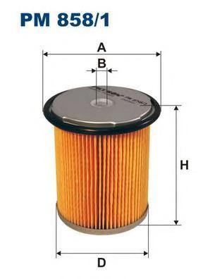 Фильтр топливный PSA Xantia, 406, FI, RE