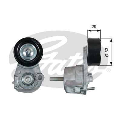 Натяжной ролик, поликлиновой ремень T39291 (7808-21691)
