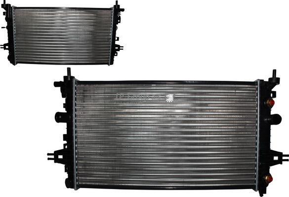 Радиатор охлаждения ДВС OP Astra H 1.6i 04-