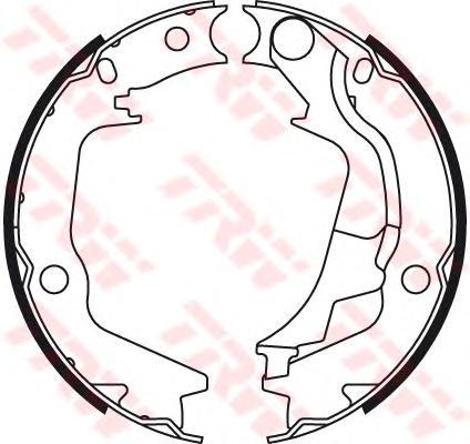 Колодки барабанные HYUNDAI GETZ (TB) GS8782