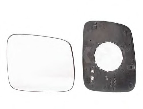 Стекло зеркала прав с подогр, выпукл, электр VW: TRANSPORTER T4 - 90-03
