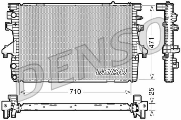 Радиатор (VW TRANSPORTER V / MULTIVAN V) DRM32039