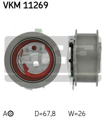 Ролик приводного ремня Audi. Seat. Skoda. VW 1.6TDi-2.0TDi 16V 05
