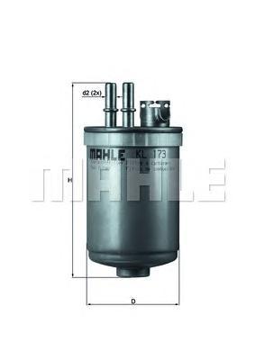 Фильтр топливный FORD Focus/Fiesta IV-V 1,8DI-TDCi
