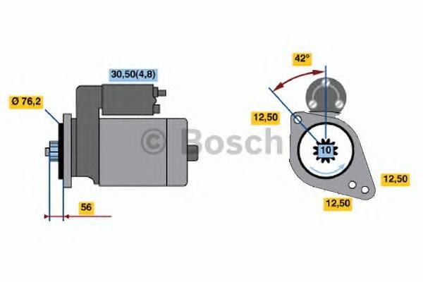 Стартер AUDI/VW/SKODA/SEAT