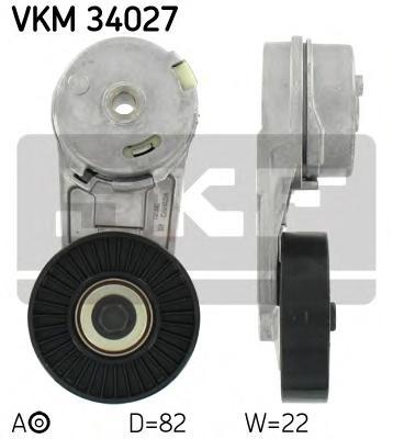 Натяжитель приводного ремня генератора Opel Astra G 2.2 16v 00-, Vectra B 2.2 16v 00-, Vectra C 2.2 16v 02-, 2.0 16v Turbo 03-, Zafira 2.2 16v 00-, SAAB 9-3 1.8T/2.0T 02-