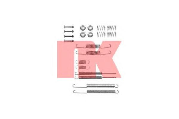 Монтажный комплект задних барабанных колодок / AUDI,VW (для колодок 230*40) 78~