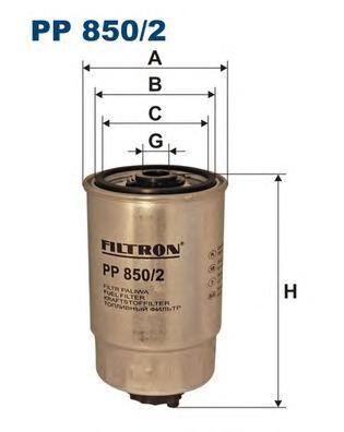 Фильтр топливный PP850/2