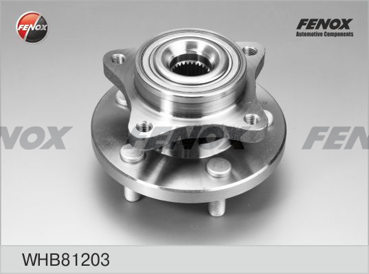Ступица FENOX WHB81203 передняя RANG ROVER SPORT 05- Discovery 4.4/2.7TD/3.0TD 04-