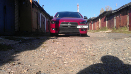 Eibach Mitsubishi Lancer X Sportback