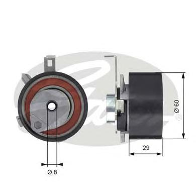 Натяжной ролик ГРМ T43115 (7784-21094)
