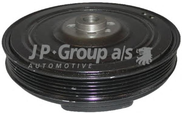 Шкив коленвала с демпфером A6, VW LT, T4 91~ 2.4-2