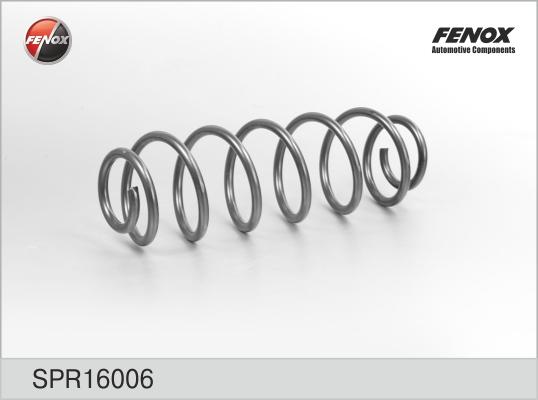 Пружина FENOX SPR16006 Ford Fusion 04- 1.25, 1.4, 1.6 задняя = 1329627
