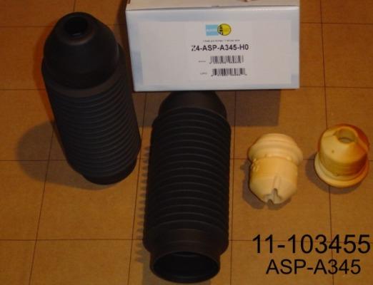 Пыльник с отбойником 2шт /ASP-A345/