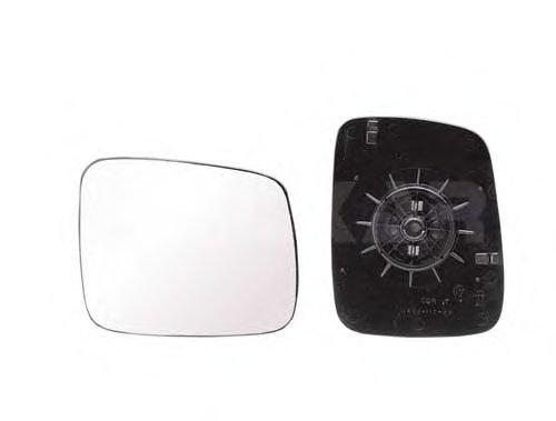 Стекло зеркала прав выпукл,ручн VW: TRANSPORTER T4 - 90-03