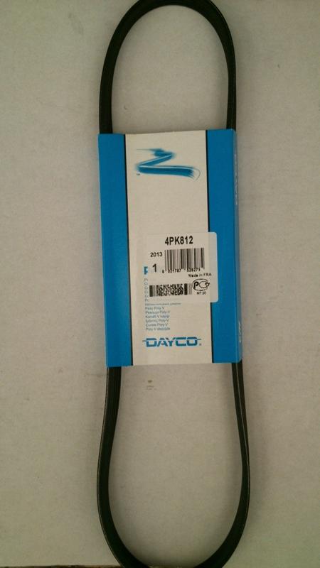 Ремень ручейковый DAYCO 4PK812 Peugeot 205/309 1.0-1.4 85- /Nissan Primera 1.6 90-01