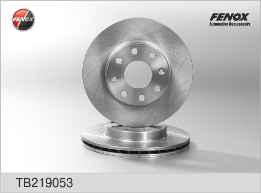 Диск тормозной передний Chevrolet Aveo, Matiz TB219053
