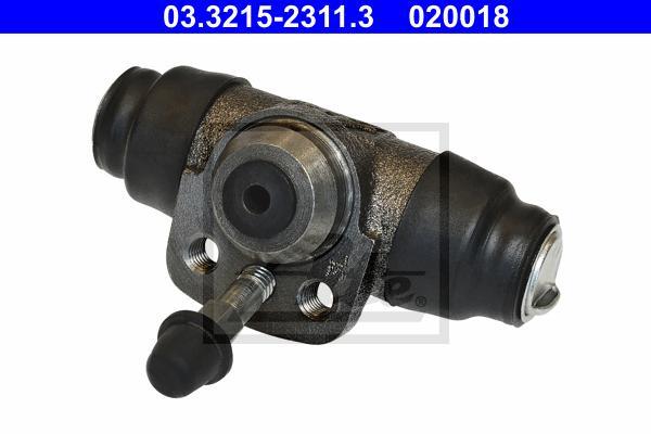 Цилиндр тормозной рабочий AUDI: 100 (43, C2) 1.6 76-82, 100 Avant (43, C2) 1.6 77-83, 80 (81, 85, B2) 1.3/1.6/1.6 D/1.6 GLE/1.6 TD/1.8/1.8 GTE/1.9 CD-5S/2.0/2.2 78-86, 80 (89,