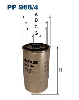 Фильтр топливный DUCATO,BOXER,JAMPER 02- Filtron