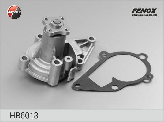 Помпа FENOX hb6013 Hyundai Accent/Elantra/Kia Rio/Cerato 1.4-1.6i 16V 95-