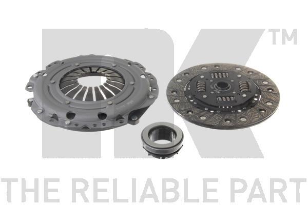 Комплект сцепления / OPEL Ascona-C,Astra-F, Corsa-A/B, Kadett-E, Tigra, Vectra-A 1.7TD ( 200 mm ) 86~