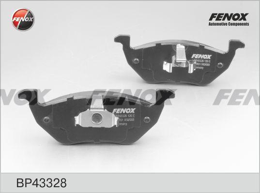 Колодки задние Ford Maverick 2,0-3,0, Mazda Tribute 2,3-3,0, 04- BP43328