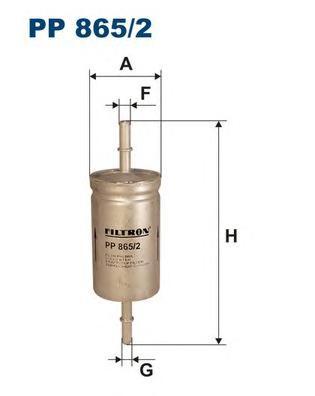 Фильтр топливный PP865/2