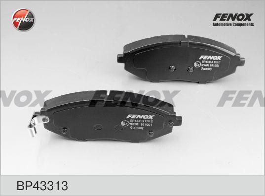 Колодки передние Chevrolet Spark 1,0-1,2, 10- BP43313