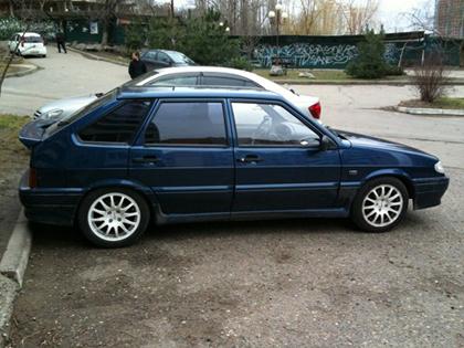 Eibach Sportline на Lada 2114