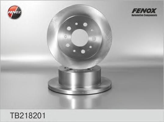 Диск тормозной задний Fiat Ducato Van 06-, 1100 kg payload, 1500 kg payload TB218201