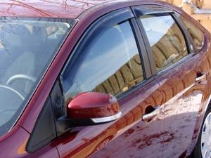 Дефлекторы окон FORD FOCUS II 2005-2010 Sedan, Hatchback
