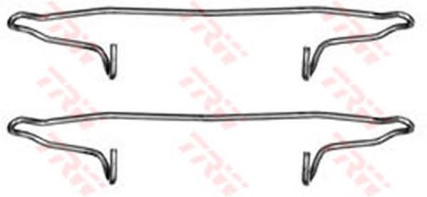 Пружинки тормозных колодок AUDI:A3 12.96-, A4 01.95-11.00, A4 Avant 01.96-09.01, A6 01.97-01.05, A6 Avant 12.95-12.97, A6 Avant 12.97-01.05, TT 10.98-, TT Roadster