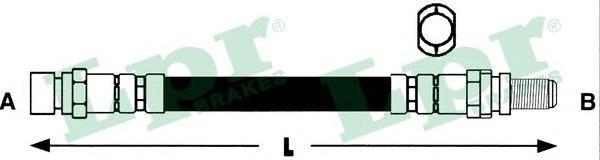Шланг тормозной LPR 6T46790 FORD MONDEO 96-00 барабан.