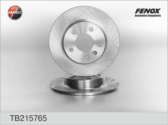 Диск тормозной FENOX