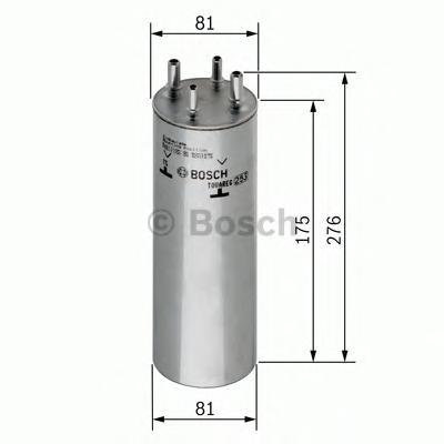 Фильтр топливный 0450906467