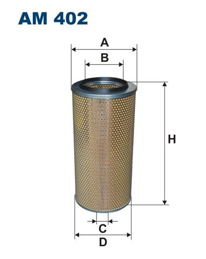Фильтр воздушный AM402