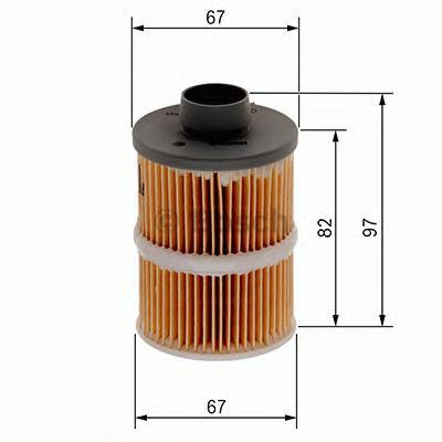 Вставка топливного фильра 1457070001