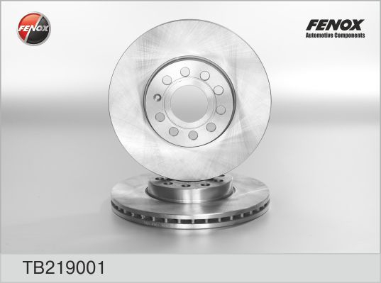 Диск тормозной передний Skoda Octavia 04-, VW Caddy III, Golf V-VI, Touran 03- TB219001